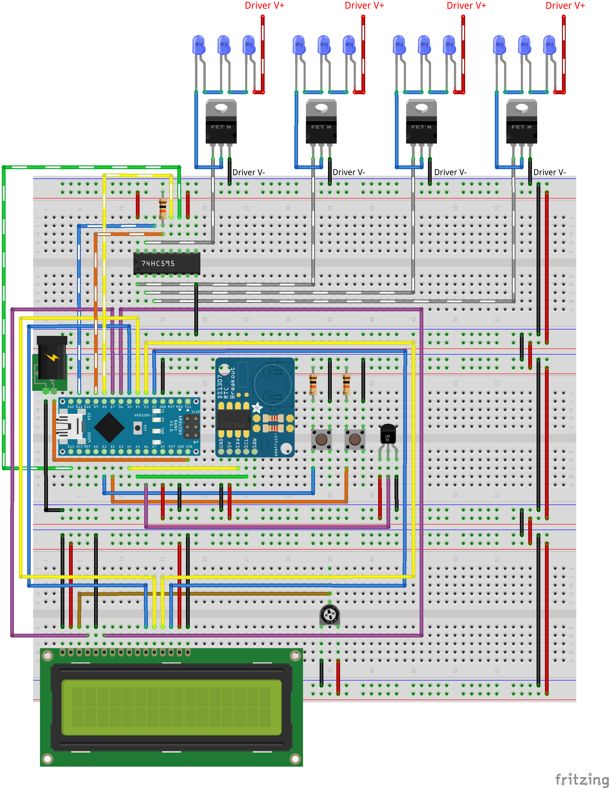 Aquarium Pwm Led V1 Legacy Driver Circuit Diagram Together With Dimmer Switch Wiring